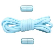 2021 new elastic non-tie shoelace, fast lazy metal lock shoelace for children and adult sports shoes