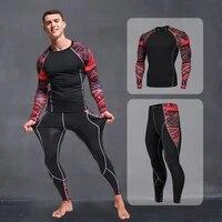 mens sportswear compression sportswear running suits mens clothing sports jogging training gym fitness sportswear