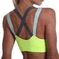 sports bra for women gym seamless high impact sports bra yoga fitness top female underwear push up bra sportswear bralette