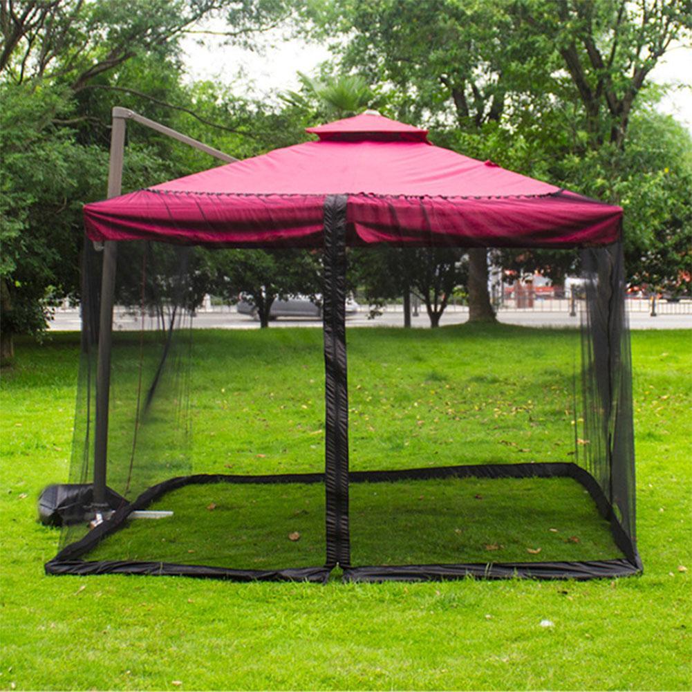 التخييم المظلة خيمة ظل المظلة صافي خيمة سهلة الإعداد شاشة البيت المظلة خيمة ظل لخيمة حديقة في الهواء الطلق