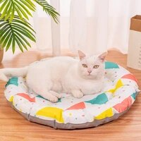 summer cool feeling dogs bed waterproof dog ice mat breathable household pet sofa for small medium dog products puppies cat mat