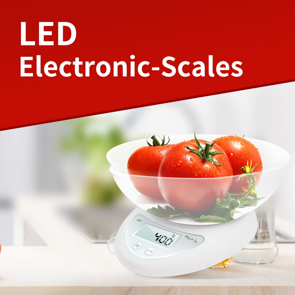 Meijuner Portable Digital Scale LED Electronic-Scales Measuring Weight Kitchen Tool Household Food K