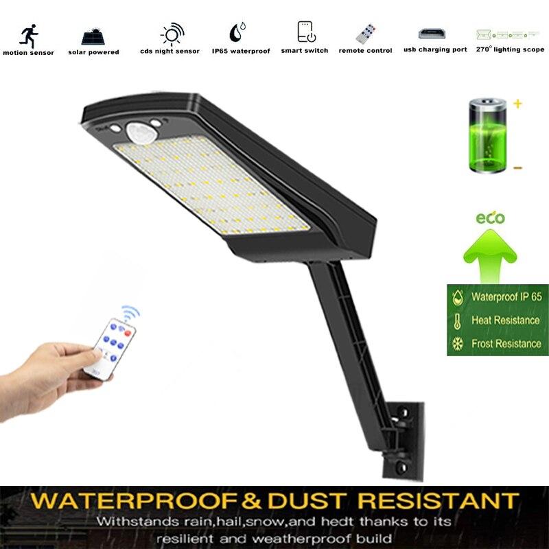 800 Lumens solar lights solarna remote control 48 LED LED Palace Lantern Solar Powered Garden Landsc