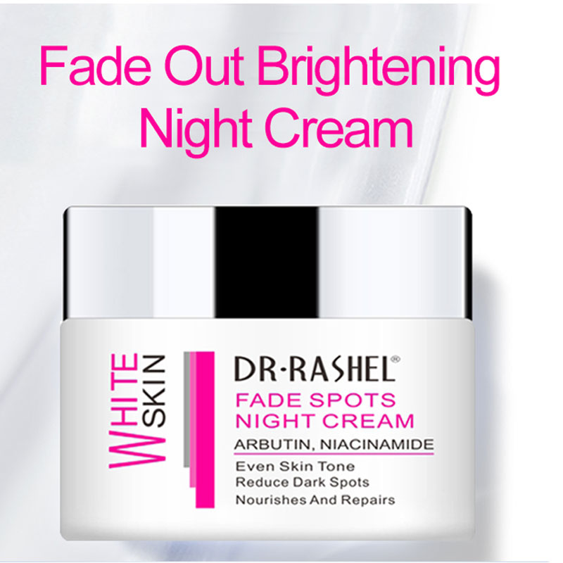 DR.RASHEL Argan Oil Night Cream Amino Acid Collagen Lighten Melanin Face Whitening Creams Reduce Fine Lines 50g