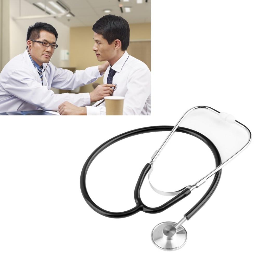 Single Emt Headed Stethoscope High Quality Stethoscope Aid Portable Medical Auscultation Stethoscope Device Equipment Tool 1pcs