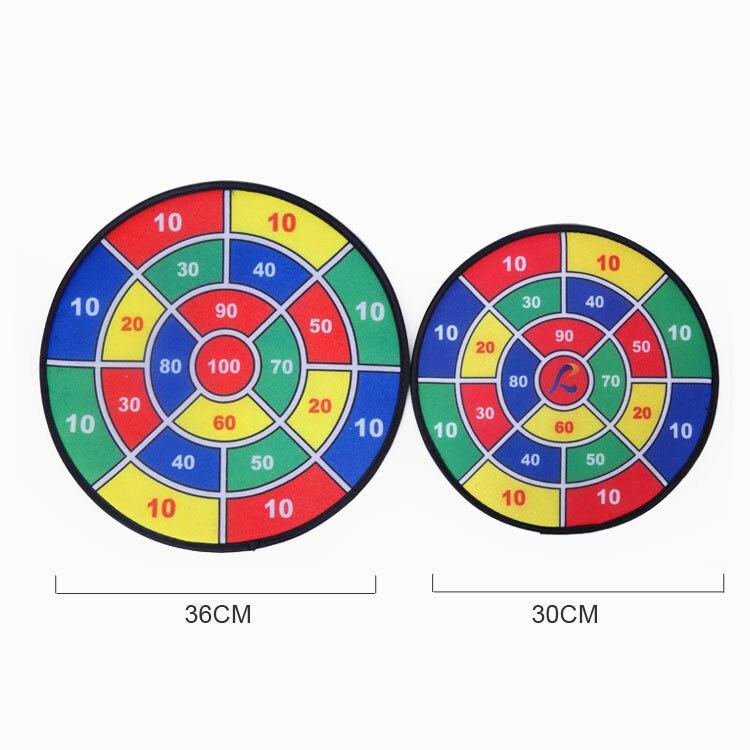 Rui yuan Dart Plate niños Dart Board Set Casual entretenimiento productos plástico seguridad Dart Ball aguja terciopelo blanco