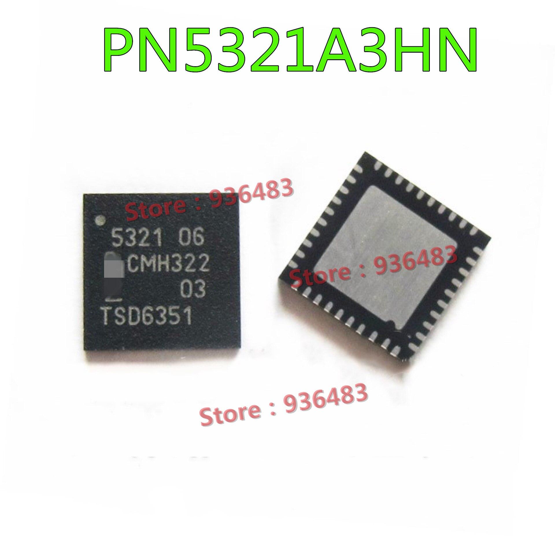 10pcs pn5321a3hn pn5321 pn5321a3hn c106 qfn40 nfc rfid