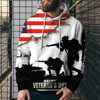 spring autumn fashion american flag eagle 3d digital printing mens clothing popular street trend pullover hoodie top