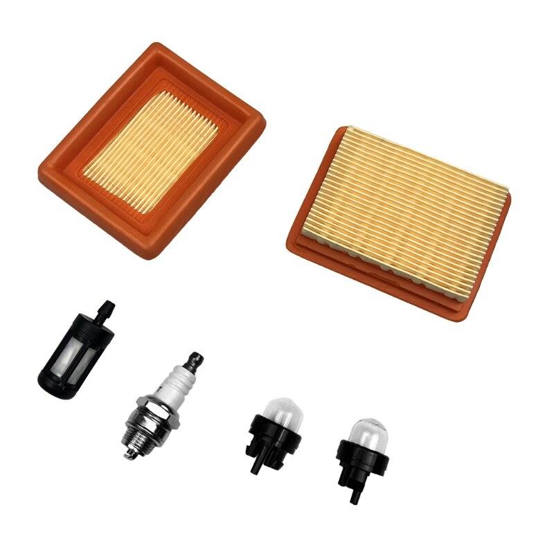 Filtro de ar Substituição para Fs120 Mais Limpo Spark Plug Filtro Combustível Primer Blub Fs200 Fs250 Fs300 Fs350 Fs400 Fs450 String 67je