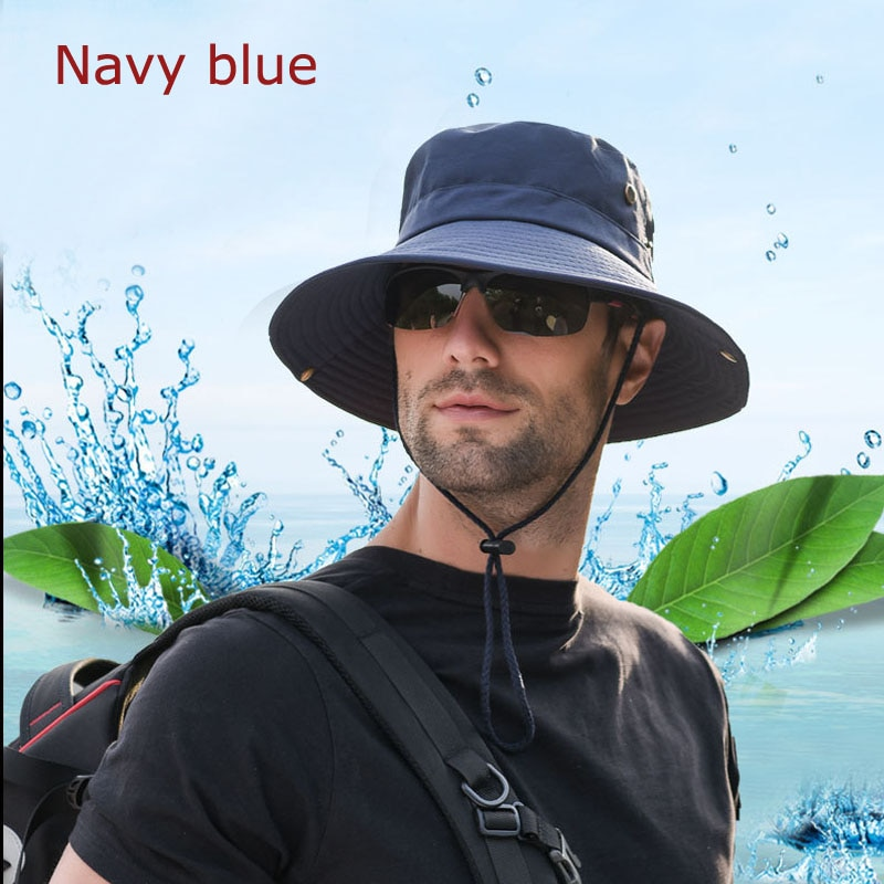 Nuevo cubo al aire libre Bob Bonnie sombreros caza pesca Camping barbacoa montaña escalada senderismo verano ala ancha sombrero gorra deportiva