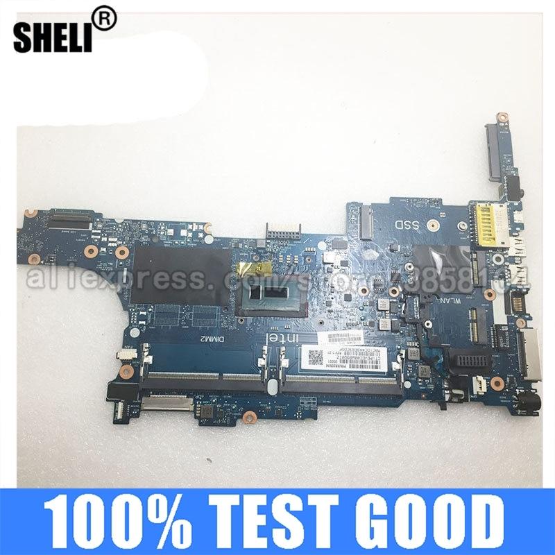 SHELI ل HP 840 G2 اللوحة المحمول مع i7-5600u CPU 6050A2637901-MB-A02 799513-001