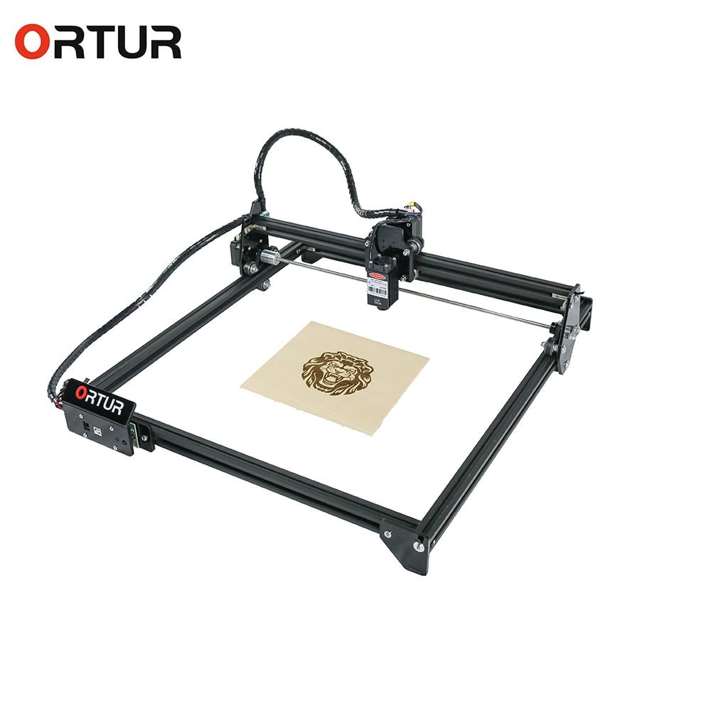 Ortur laser mestre 2 azul violeta carpintaria gravador a laser cortador de papel plástico couro metal escultura em madeira máquina gravura