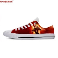 mens casual shoes pop funny the flash lace up canvas strap ladies casual man shoes comfortable