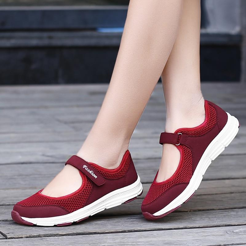 Модная женская спортивная обувь, повседневная женская летняя обувь, дышащая спортивная обувь, удобная женская обувь