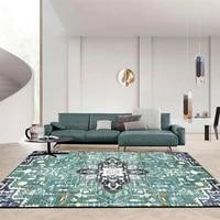 120x160 retro vintage carpet persian carpet living room bedroom mat anti slip area carpet absorbing boho moroccan tabisstyle