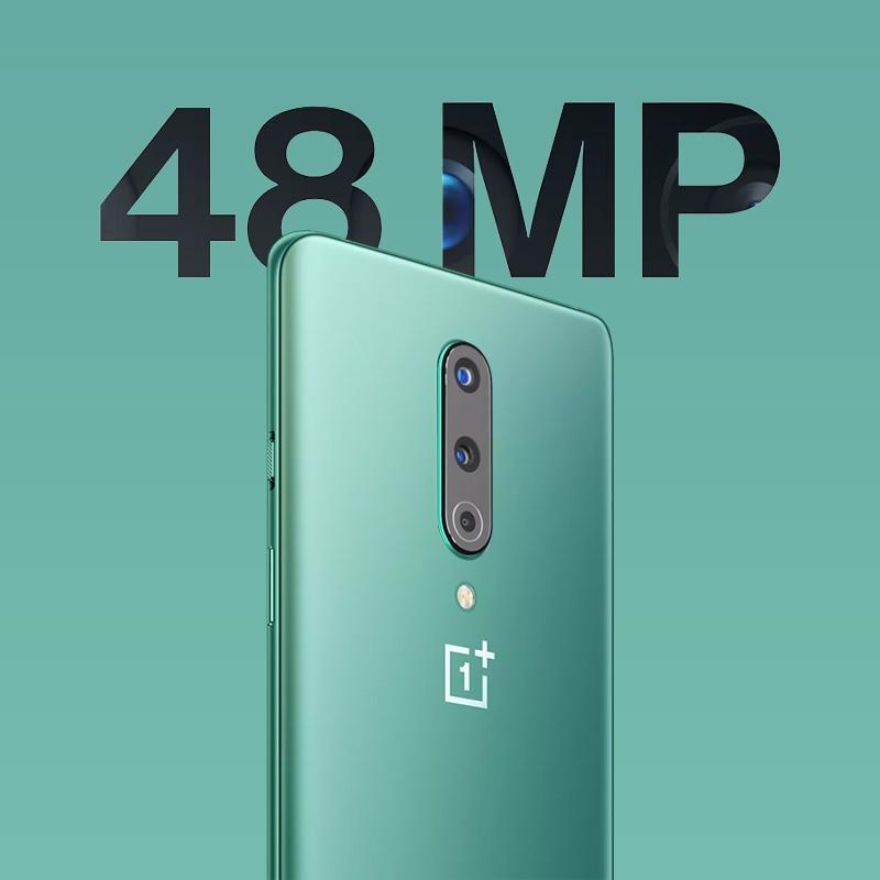 Фото4 - Смартфон Oneplus 8, телефон с глобальной прошивкой, Официальный магазин OnePlus, Восьмиядерный процессор Snapdragon 865, 8 Гб 128 ГБ, экран 6,55 дюйма 90 Гц, заря...