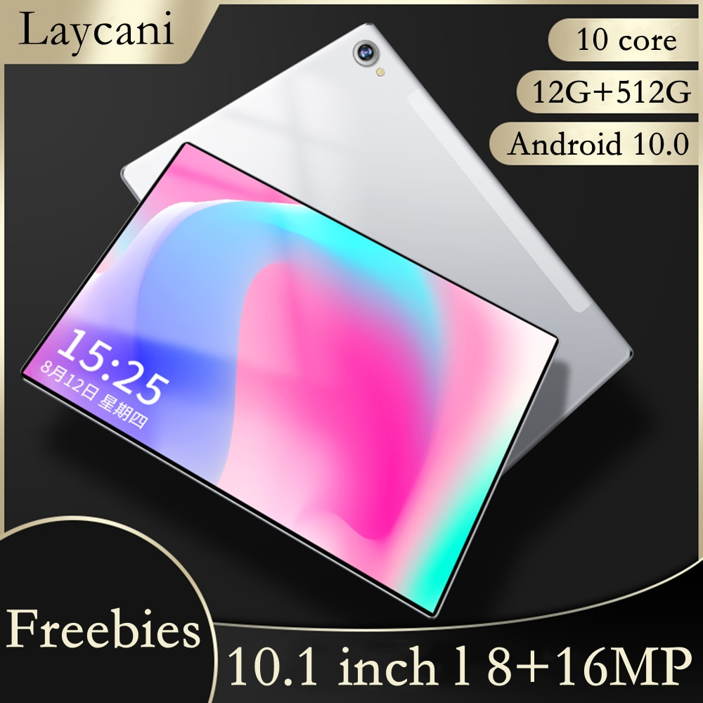 tablet 10 inch tablet M40 Pro tablet android 12GB + 512GB tablet pc 10 core Gaming laptop Android 10