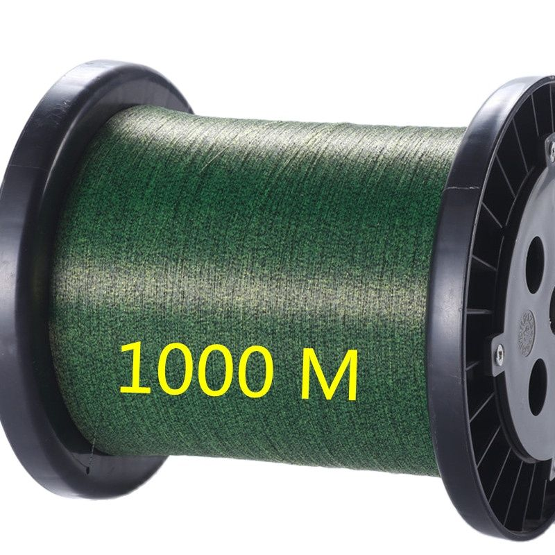 1000M Super Strong Carp Fishing Invisible Fishing line Speckle 3D Camouflage Sinking Thread   Fluorocarbon Coated Fishing Line 200 meters speckle fluorocarbon coating nylon fishing line sinking high abrasion resistance stretchable super invisible line