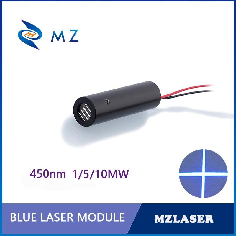 5 v 12mm 450nm 1mw 5mw 10mw apc industrial conduz bule cross laser módulo