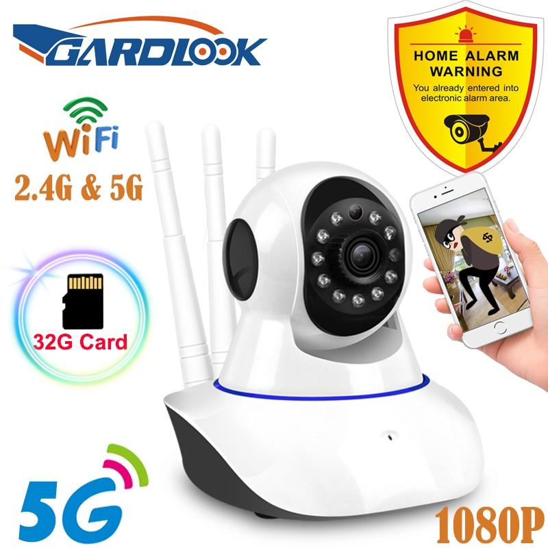 YI-كاميرا مراقبة مزدوجة النطاق Wifi hd 2021G/5G (1080P) ، جهاز أمان منزلي لاسلكي ، مع رؤية ليلية بالأشعة تحت الحمراء ، موديل جديد 2.4