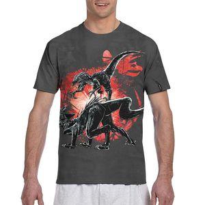 Jurassic Park brand loose t shirt custom female/male summer t shirt figure women/men t shirt