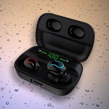 #20 Tws écouteurs intra-auriculaires sans fil stéréo écouteurs sport casque avec micro jeu casque boîte de charge livraison directe