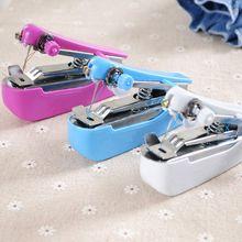 Mini Machine à coudre manuelle Portable   Pour lextérieur, outils de couture simples, tissu de couture, outil pratique de travail de couture