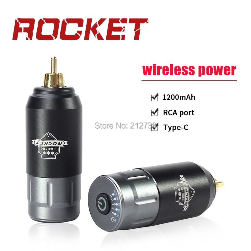 aliexpress.com - Newest Tattoo Mini Wireless Power Grey Black  For Tattoo Rotary Machine Pen RCA Connection Tattoo Power Supply Free Shipping