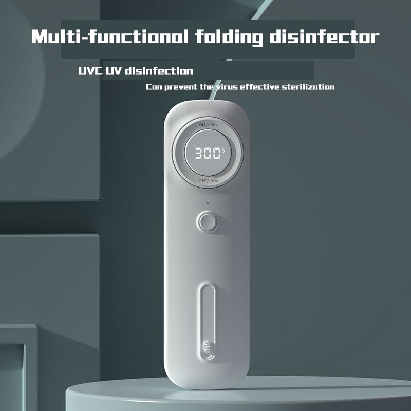 Multi-Function Foldable Uv Lamp Sterilization Wand/Box, Handheld Disinfection UVC Light Mini Portable