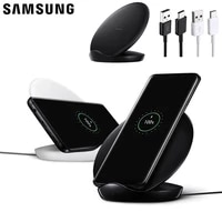 samsung original wireless charger ep 5100 for galaxy s9 g9600 s9 plus g9650 s10 plus s8 s10 note 9 note 8 note 10 fast charger