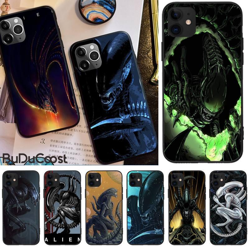 Милый чехол Mantin Alien movie Bling для iphone 11 Pro11 Pro Max X XS XR XS MAX 8plus 7 6splus 5s se 7plus