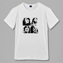 let it be hard day's night classic rock n roll band men women t shirt vintage design raglan ringer short sleeves O neck tee tops