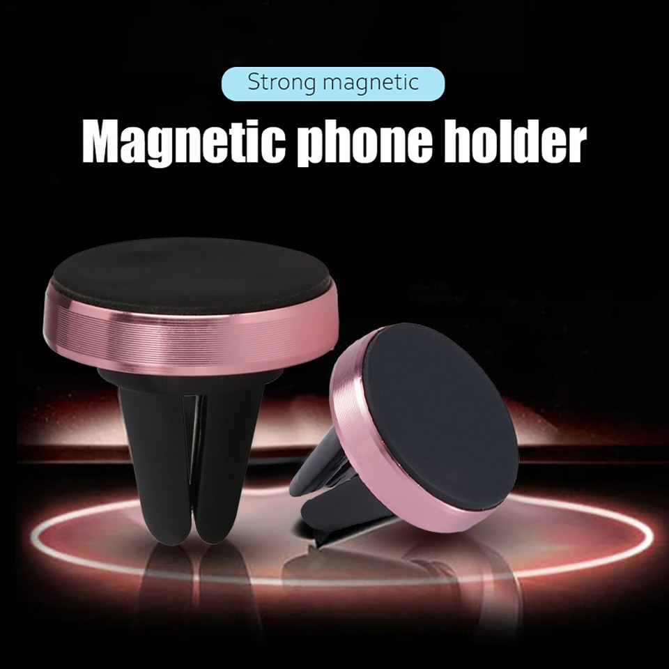 Magnetic Phone Holder Stand for mini GPS Navigation Air Vent Mount Magnet Stand For Samsung iPhone M