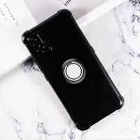Для UMIDIGI A7S A5 S5 A3 A7 A9 Pro Зубр A3X A3S Мощность 3 F2 F1 X задняя крышка кольцо держатель Кронштейн чехол для телефона из силикона и ТПУ чехол