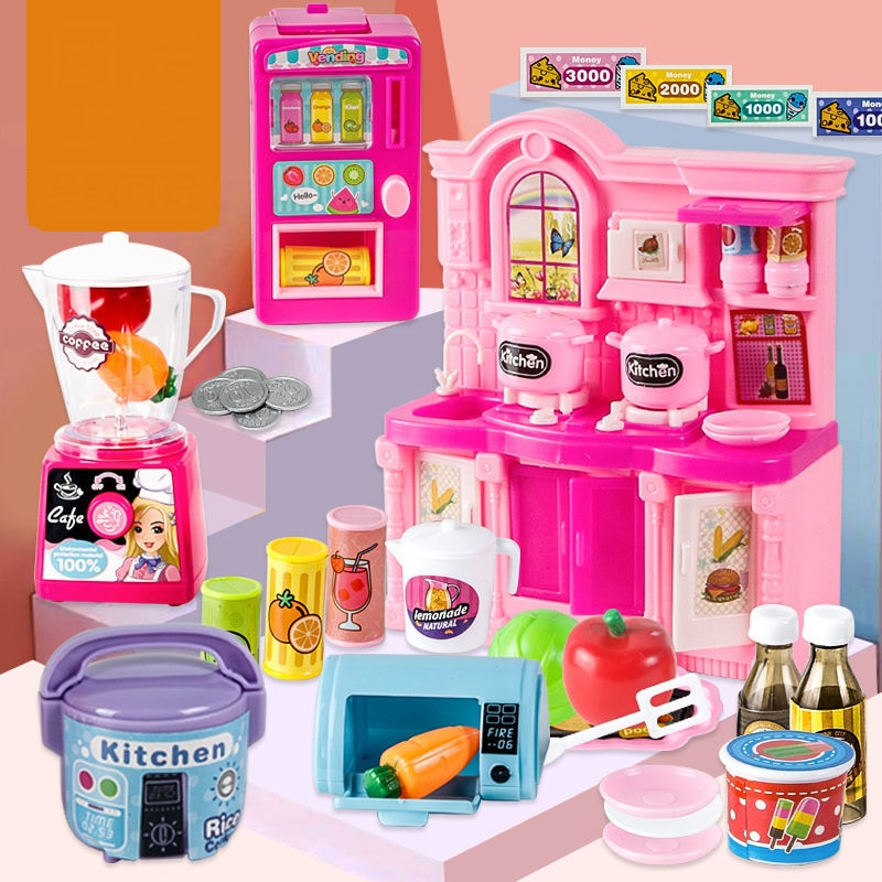 Фото - Simulation Electric Mini Household Appliances Furniture Pretend Toy Boys & Girls Early Education Play House Electrical Toy Gifts fun boys girls mini telephone developmental toy role play pretend toy communication equipment