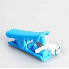 2 uds., cortador de tubo Bowden PTFE, purificador de agua, tubos de corte Anycubic Creality Ender TVO Capricornio para impresora 3D
