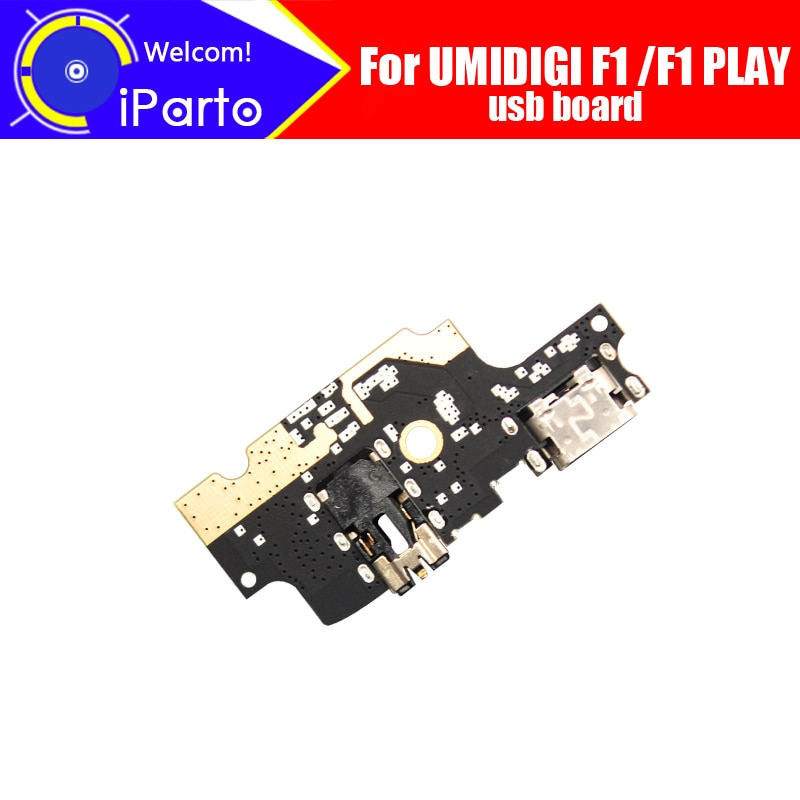 6.3 inch UMIDIGI F1 usb board 100% Original New for usb plug charge board Replacement Accessories for UMIDIGI F1 PLAY phone.