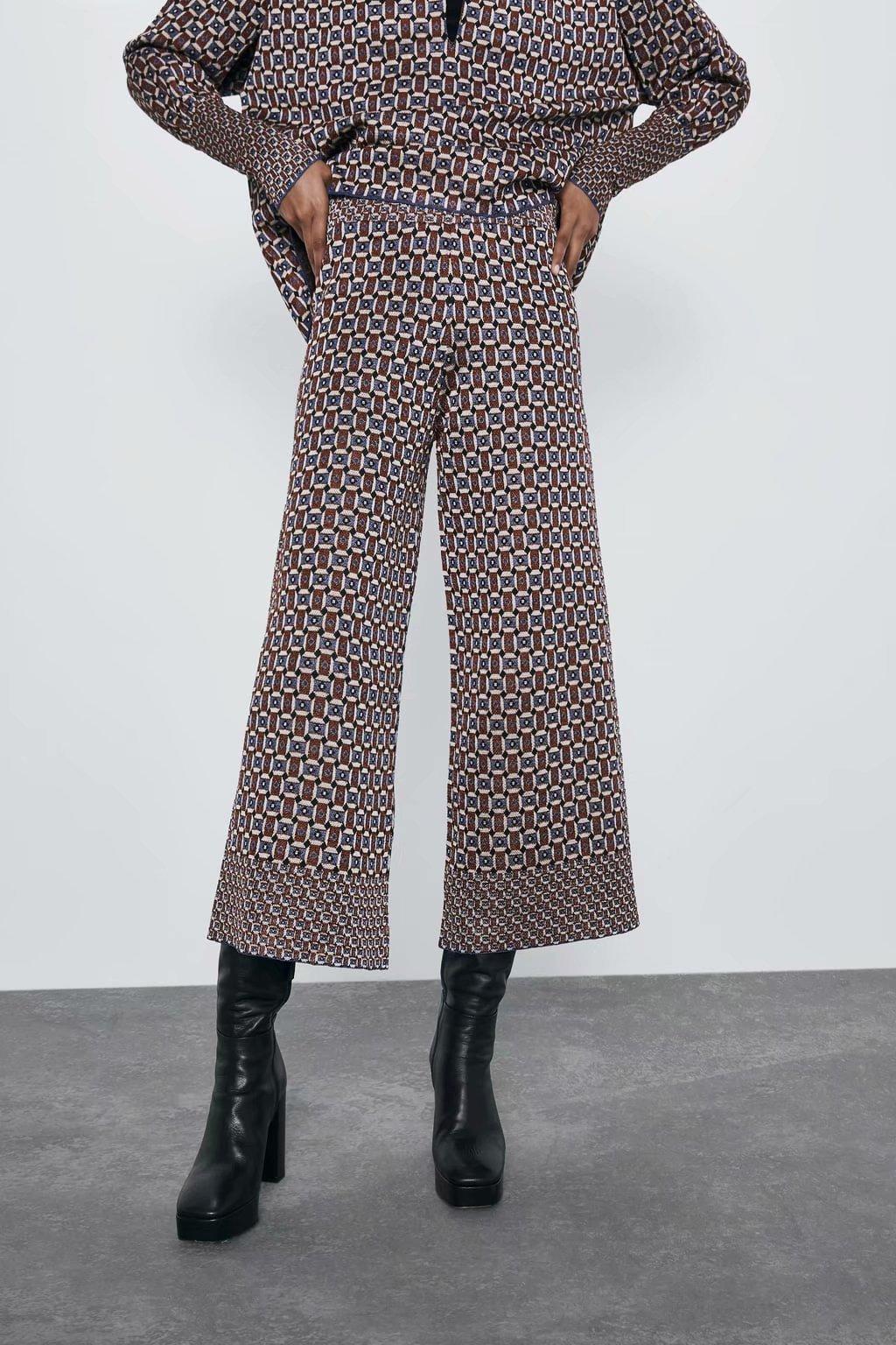 2020 new Spring Summer European zaraing women pants trousers vadiming sheining female pants Trousers streetwear XDL2520