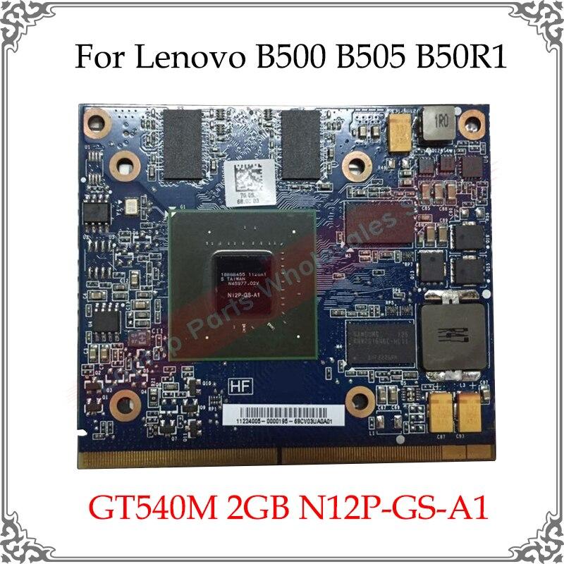 Original nuevo para HP GT540 GT540M 2GB portátil tarjeta de Video para Lenovo B500 B505 B50R1 N12P-GS-A1 reemplazo de tarjeta gráfica