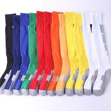 1pair Long Tube Socks Football Socks Soccer Match Antiseptic Deodorization Economic Durable