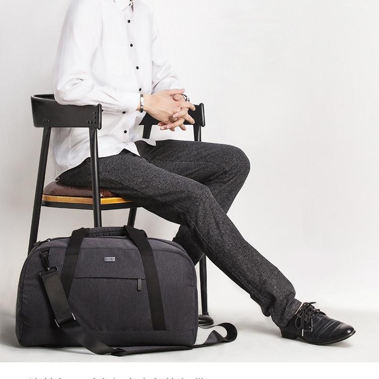 hawkwind hawkwind the business trip live Business men's business trip hand luggage clothes storage bag laptop bag One Shoulder Messenger Bag