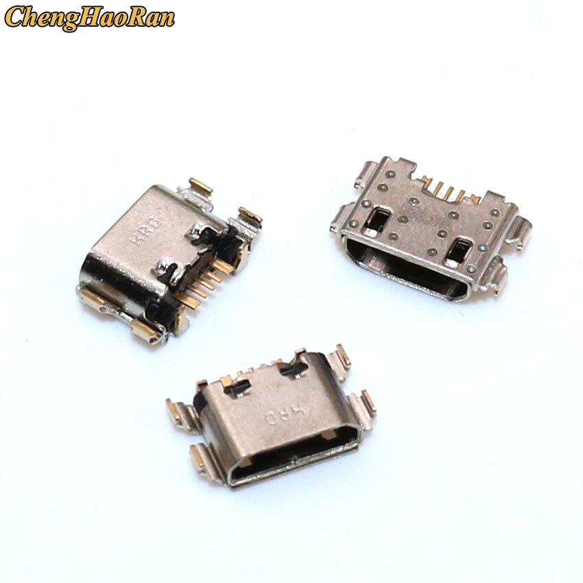حامل شاحن USB صغير لـ Redmi 6A 6 Pro 6Pro ، قطع غيار ، 100 قطعة ، منفذ شحن ، موصل USB صغير ، قطع غيار