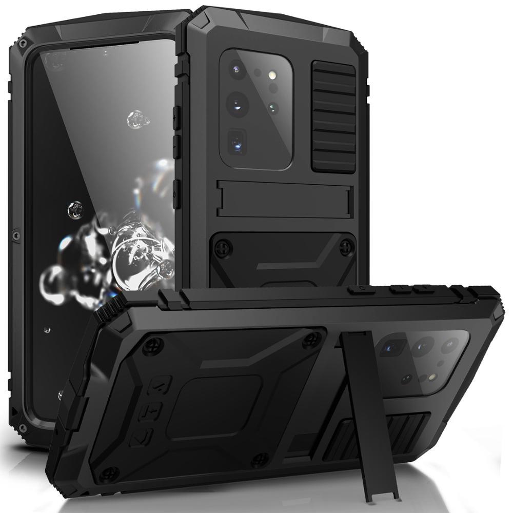 Suporte de Armadura de Alumínio de Metal Completo para Iphone 360 11 Pro Max