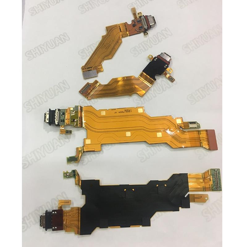 Puerto de carga USB flexible Cable conector para Sony Xperia XZ2 H8266 H8216 H8296 H8276 702SO módulo muelle XZ3 H9436 H8416 H9493