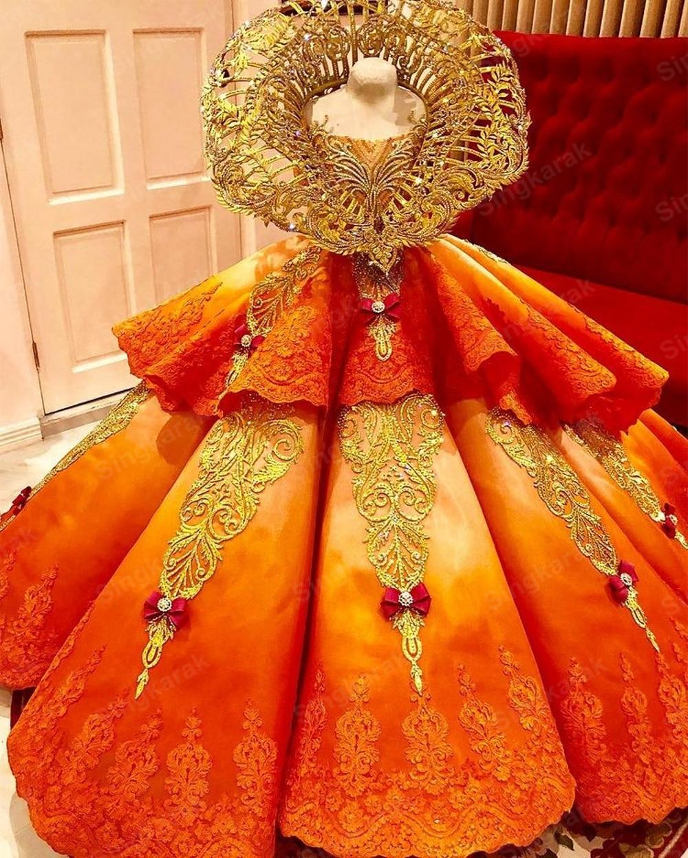 وصول جديد الذهب الأميرة فساتين Quinceanera 2021 الفاخرة المشاركة الحلو 15 16 فستان حفلة فساتين حفلات الزفاف بوتيك