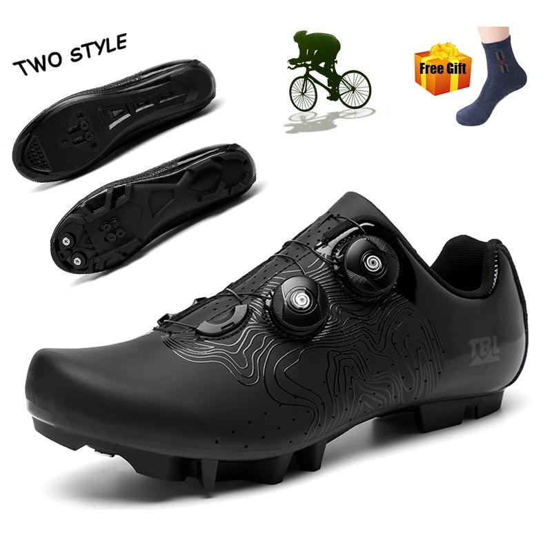 Zapatos De Ciclismo Spd para hombre, Zapatillas De deporte De montaña para...