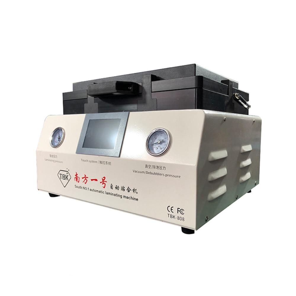 Автоматическая машина для ламинирования, 12-дюймовый изогнутый экран, вакуумная машина для ламинирования и удаления пузырьков, ламинатор и ...