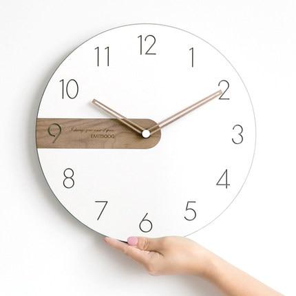 Reloj De Pared nórdico Moderno, arte De sala De estar, dormitorio, hogar...