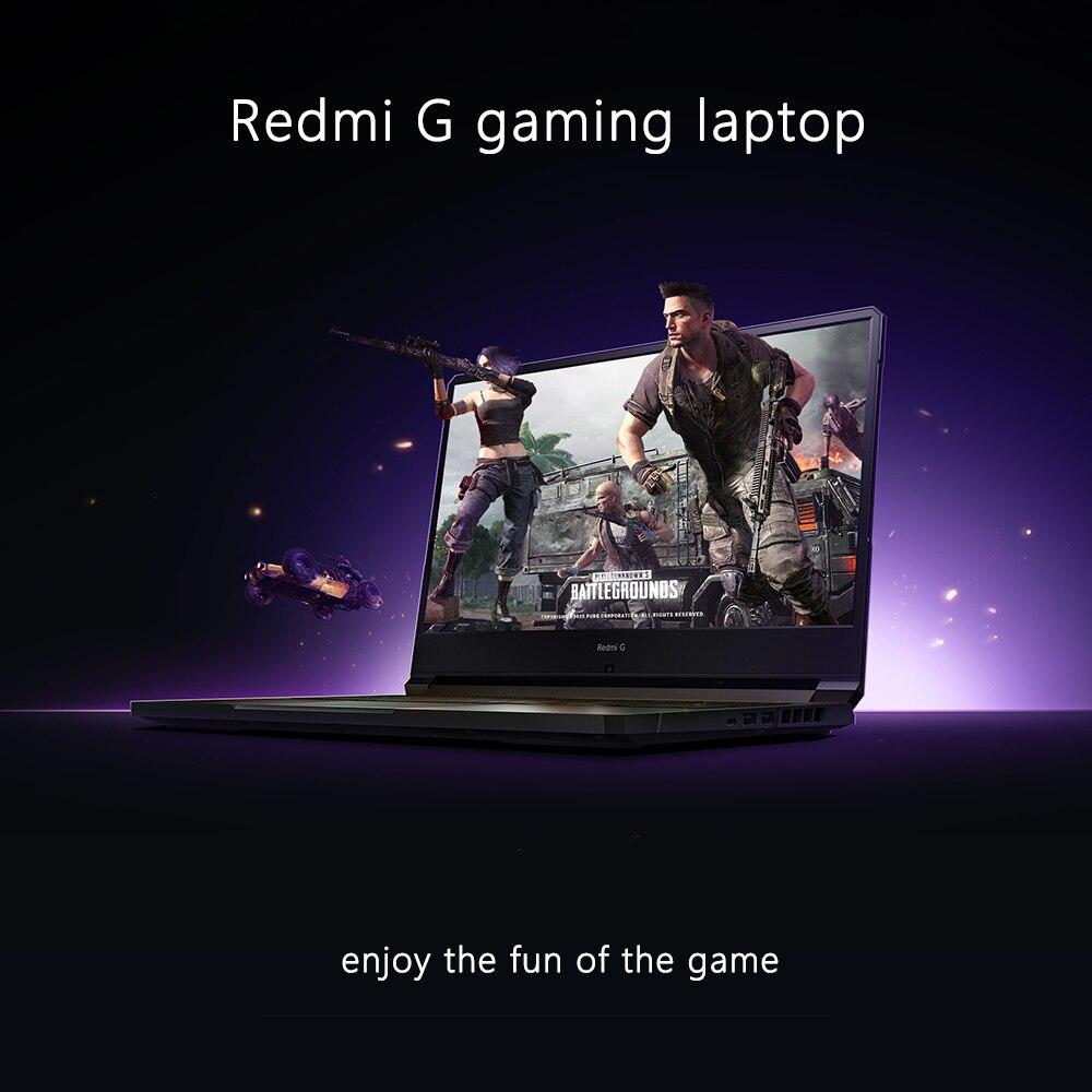Xiaomi Redmi G Gaming laptop 16.1 inch Intel core 10th gen CPU 16GB DDR4 2933MHz RAM 512GB PCIe SSD GTX 1065 TI Camera Redmibook