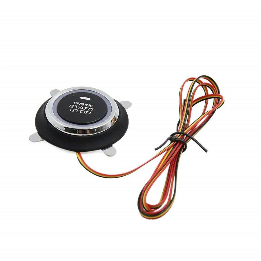 Interruptor de arranque de coche, botón de arranque del motor para entrada sin llave y Kit de arranque de empuje nuevo de alta calidad